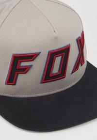 Fox Racing - POSESSED SNAPBACK HAT - Lippalakki - light grey - 2