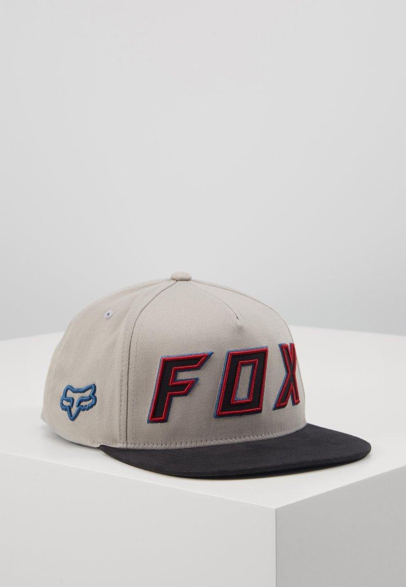 Fox Racing - POSESSED SNAPBACK HAT - Lippalakki - light grey