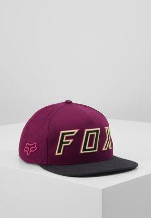 POSESSED SNAPBACK HAT - Cap - dark purple