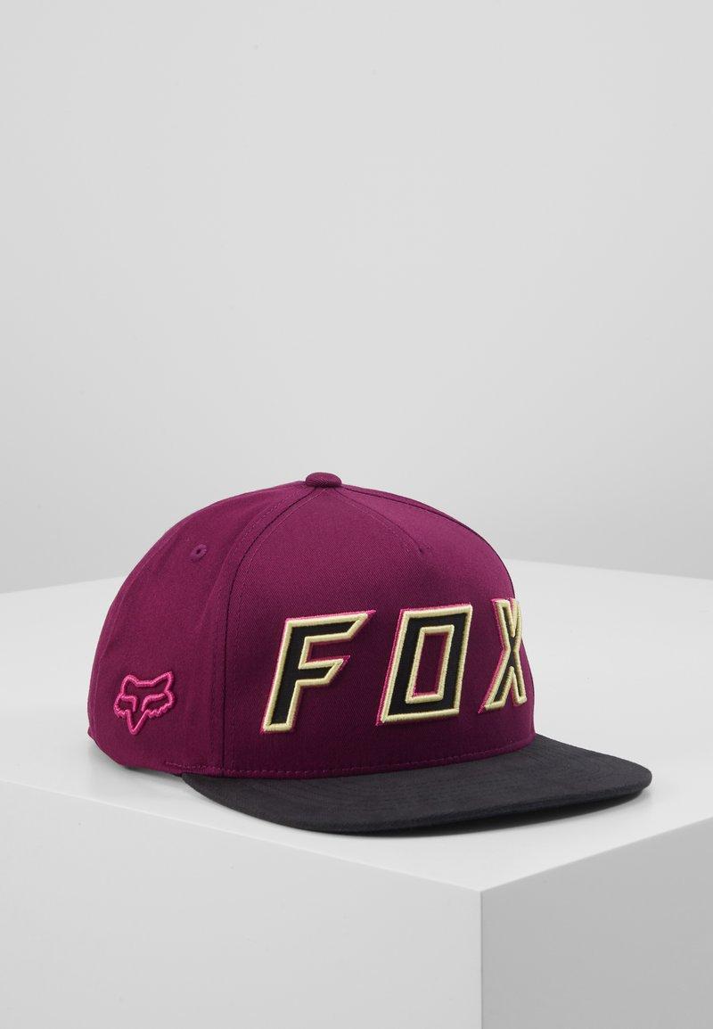 Fox Racing - POSESSED SNAPBACK HAT - Cap - dark purple