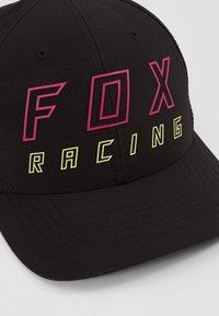 Fox Racing - NEON MOTH FLEXFIT HAT - Cap - black - 2