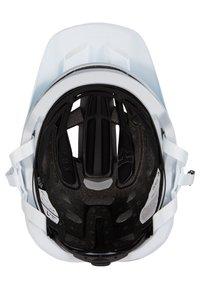 Fox Racing - SPEEDFRAME HELMET WURD - Helm - white - 4