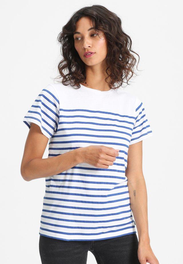 PAULA - Print T-shirt - white