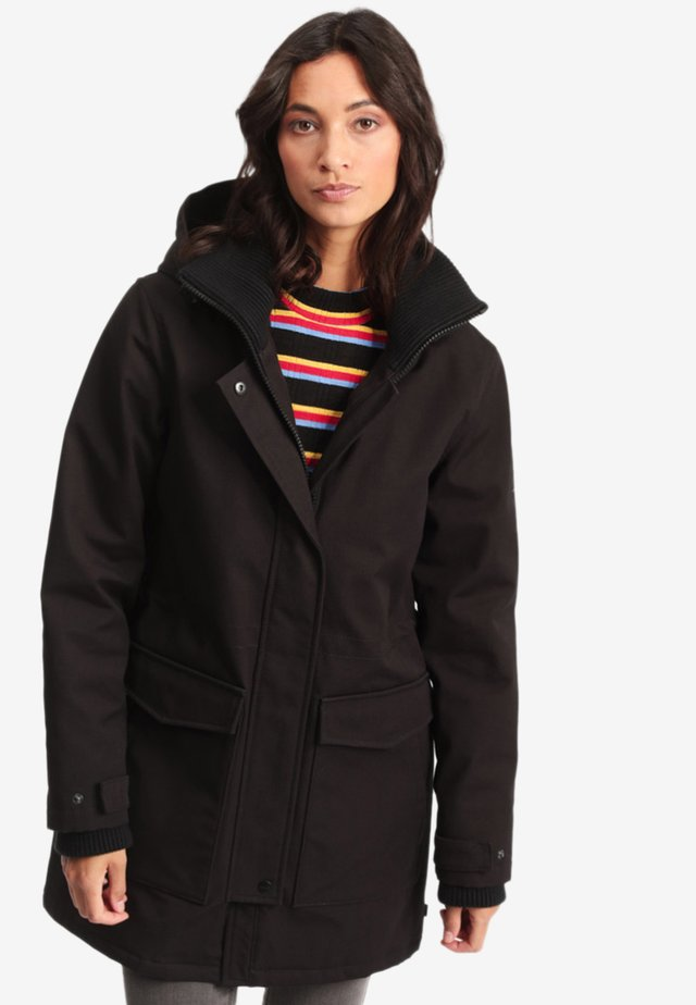 ANIAK - Parka - black
