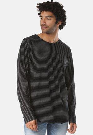 LUTAK - Long sleeved top - black