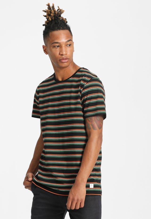 TRUKS - T-shirt imprimé - black