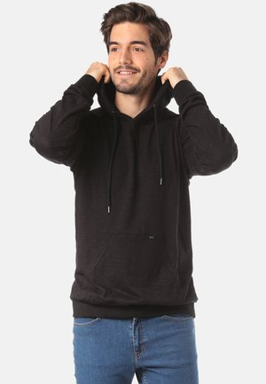 FORVERT LUUK - Sweat à capuche - black