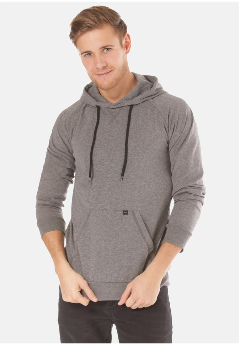 Forvert - LUUK  - Sweat à capuche - grey