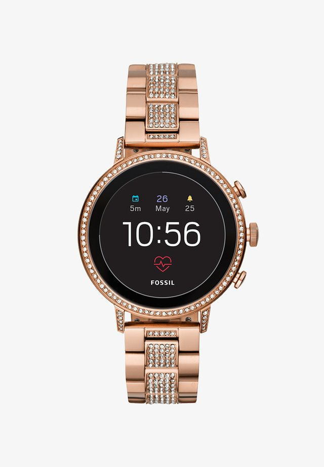 Q VENTURE - Smartwatch - roségold-coloured