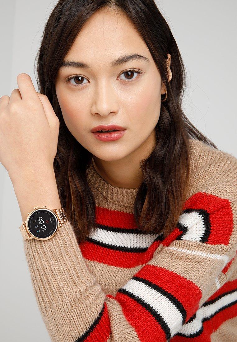 Fossil Smartwatches - Q VENTURE - Montre - roségold-coloured