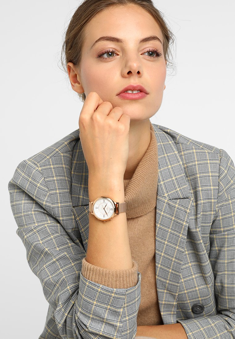 Fossil Smartwatches - Q JACQUELINE - Watch - roségold-coloured