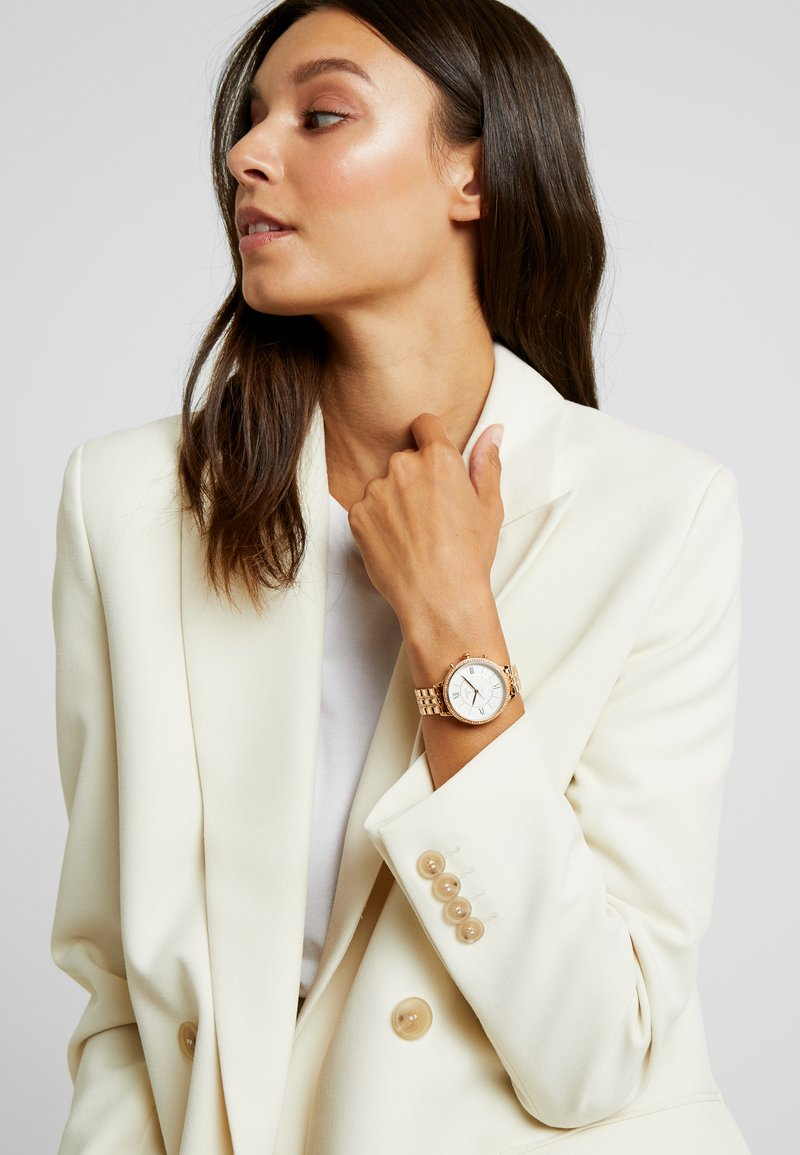 Fossil Smartwatches - JACQUELINE HYBRID - Watch - rose gold-coloured