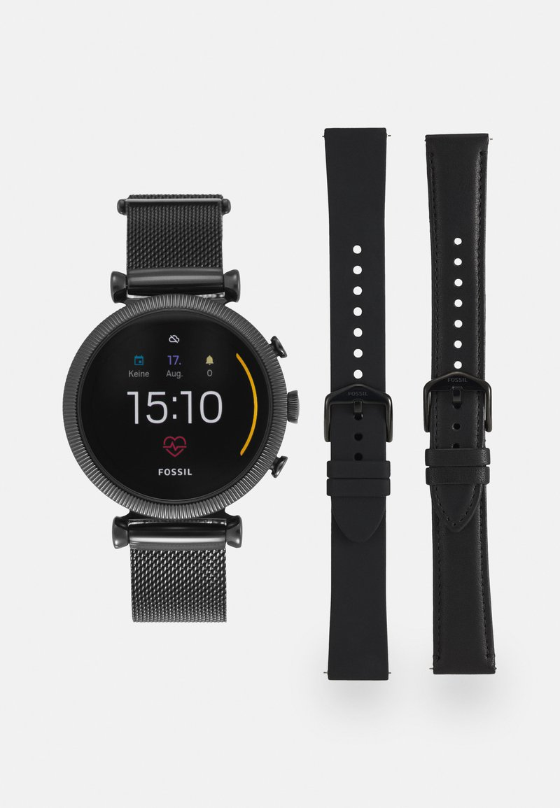 Fossil Smartwatches - SLOAN SET - Zegarek - black
