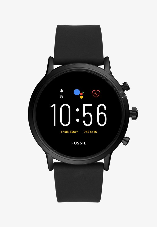 THE CARLYLE HR SMARTWATCH - Klocka - black