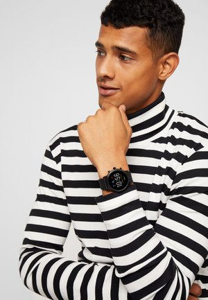 THE CARLYLE HR SMARTWATCH - Montre - black