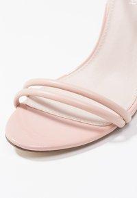 Forever New - ABIGAIL TUBULAR VAMP - High Heel Sandalette - nude - 5
