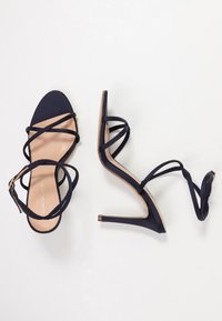 Forever New - CELINA CROSS ROPE STILETTO  - Sandales à talons hauts - navy - 3