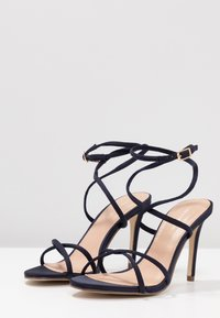 Forever New - CELINA CROSS ROPE STILETTO  - Sandales à talons hauts - navy - 4