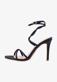 Forever New - CELINA CROSS ROPE STILETTO  - Sandales à talons hauts - navy - 1