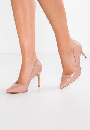 DIEGO STILLETTO POINTED COURT SHOE - Zapatos altos - nude