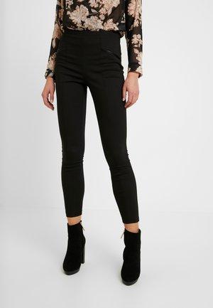 STEPHANIE UPDATE - Pantalones - black