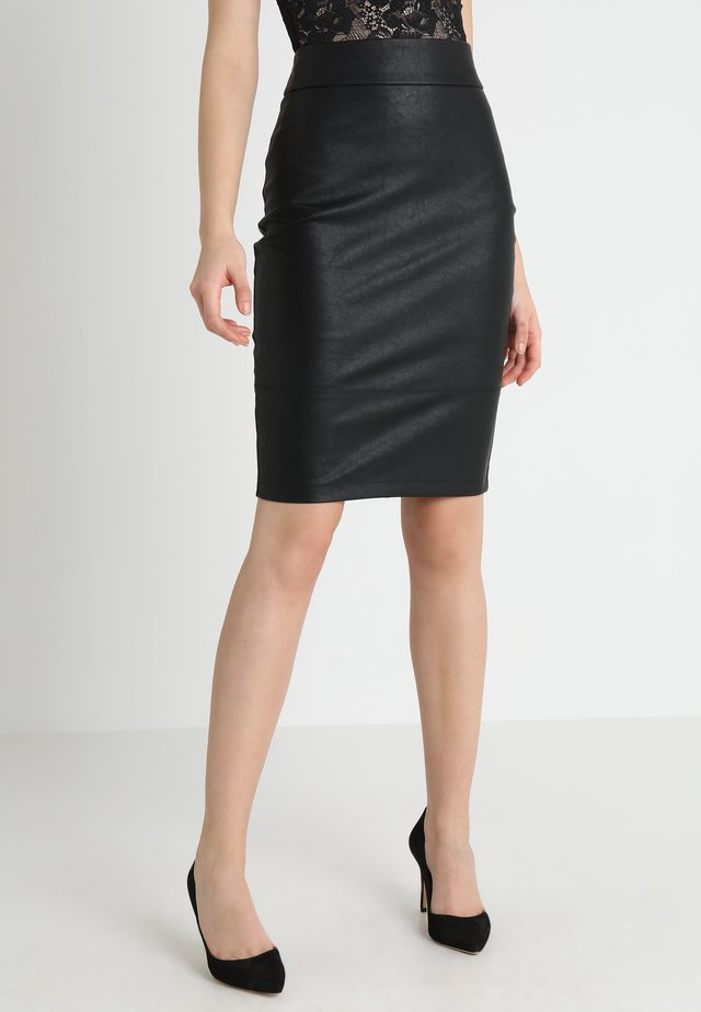 ALEX PENCIL SKIRT - Falda de tubo - black
