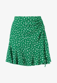 Forever New - LIBBY RUCHED MINI SKIRT - Jupe trapèze - green - 3