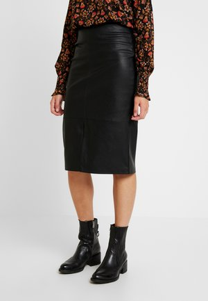 JODIE SKIRT - Pencil skirt - black