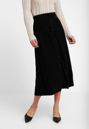 MOLLY PLEATED SKIRT - Áčková sukně - black