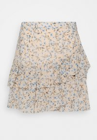 Forever New - ANNABELLE RUCHED SKIRT - Gonna a campana - cornflower fields - 0
