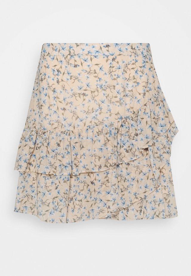 ANNABELLE RUCHED SKIRT - Áčková sukně - cornflower fields