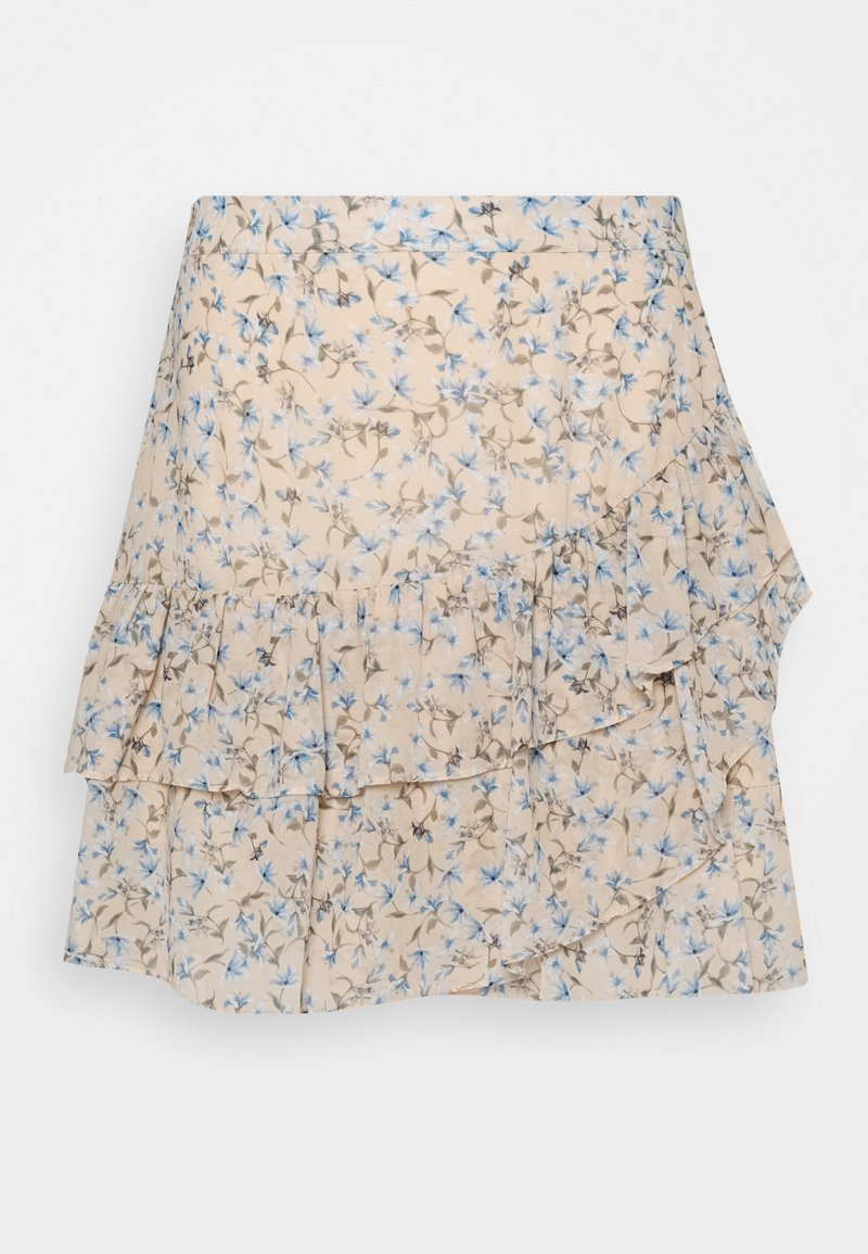 Forever New - ANNABELLE RUCHED SKIRT - Gonna a campana - cornflower fields