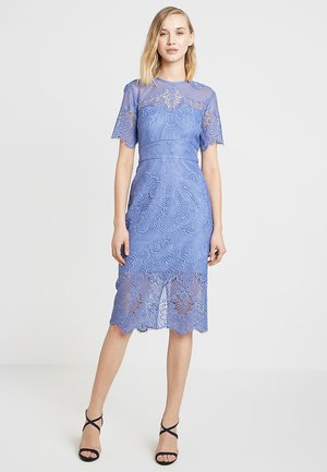 ZOE LACE BODYCON DRESS - Cocktail dress / Party dress - mid cornflower blue