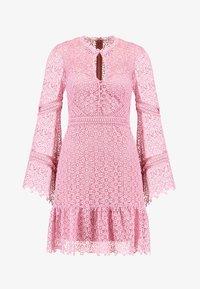 Forever New - GEO FLIPPY DRESS - Cocktailkjole - pop pink - 5