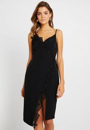 PANEL BODYCON - Cocktail dress / Party dress - black