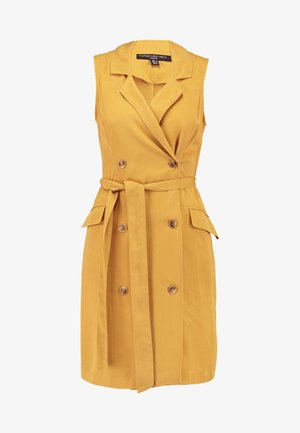 NICOLA DRESS - Shirt dress - ochre