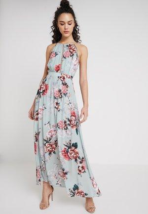 LYDIA EYELET DETAIL MAXI DRESS - Robe longue - blue