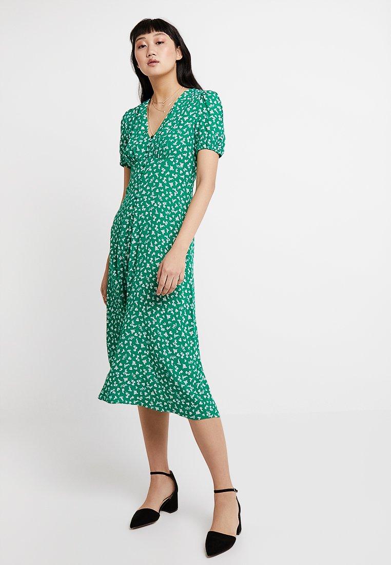 Forever New - RAINA PRINTED MIDI DRESS - Skjortekjole - green