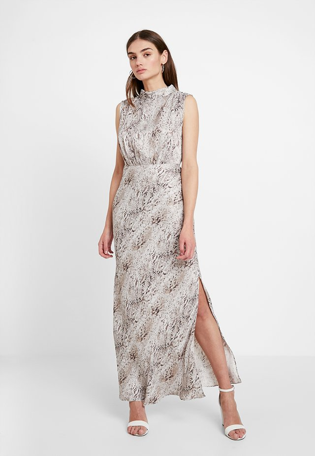 PEYTON SLEEVELESS DRESS - Festklänning - beige