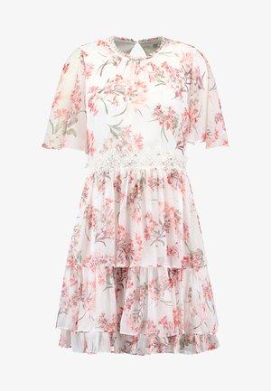 LORI CAPE SLEEVE APPLIQUE DRESS - Vestido informal - multi-coloured