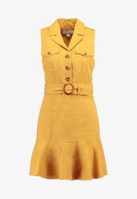 Forever New - FLIPPY UTILITY DRESS - Skjortklänning - ochre - 5