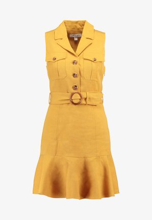 FLIPPY UTILITY DRESS - Skjortekjole - ochre