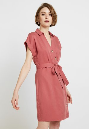ROSIE WRAP DRESS - Paitamekko - burnt sienna