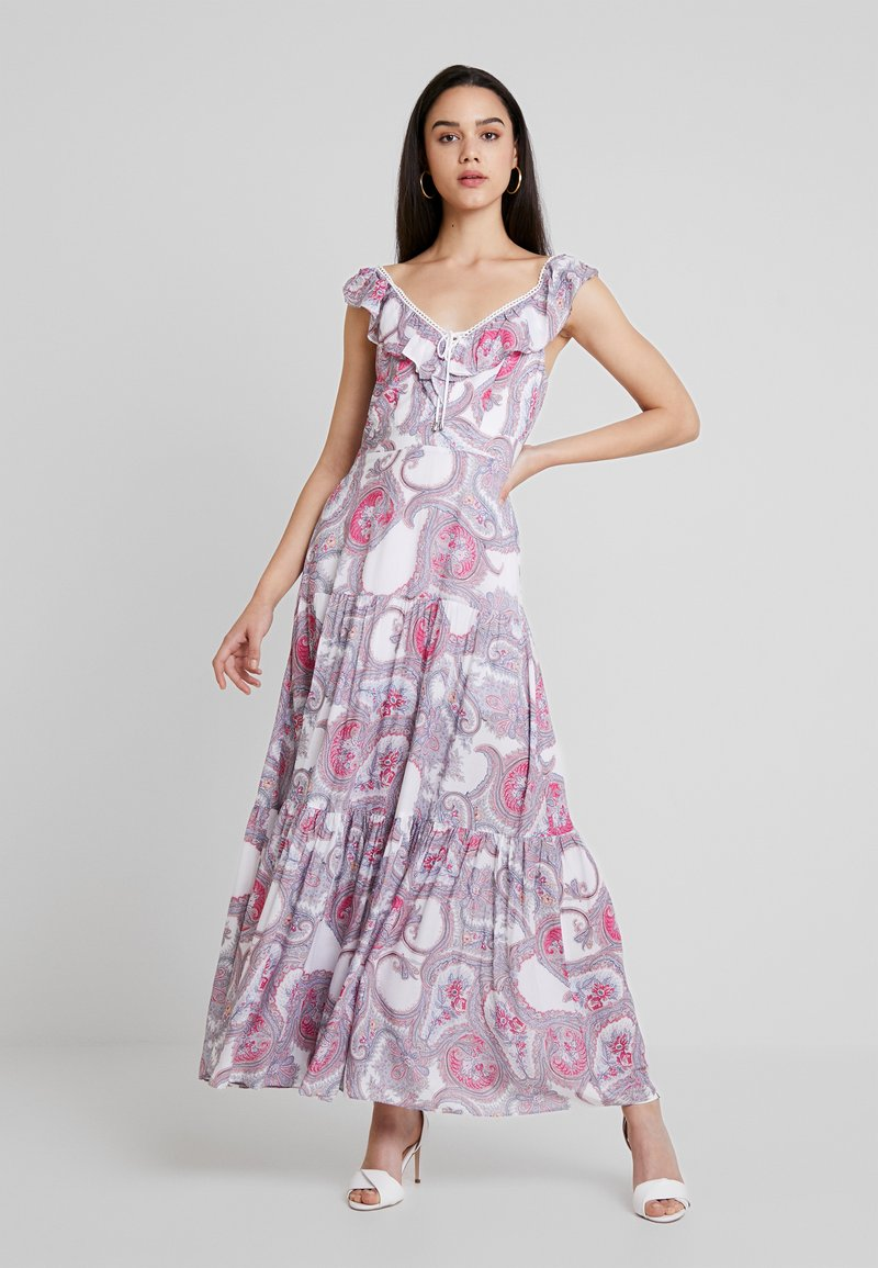 Forever New - AUTUMN PAISLEY TIERED DRESS - Maxi dress - pink vintage