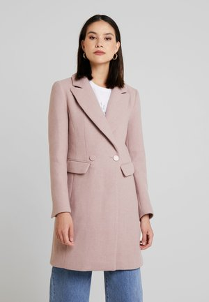 SCARLETT DRESS COAT - Villakangastakki - mauve day