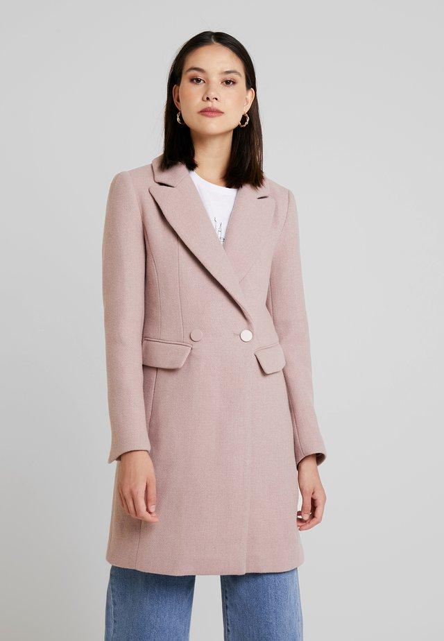 SCARLETT DRESS COAT - Abrigo - mauve day