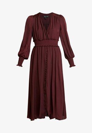 EVIE MIDI DRESS - Sukienka letnia - wineberry
