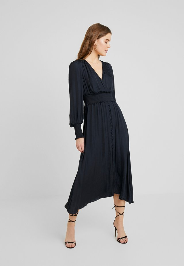 EVIE MIDI DRESS - Korte jurk - navy