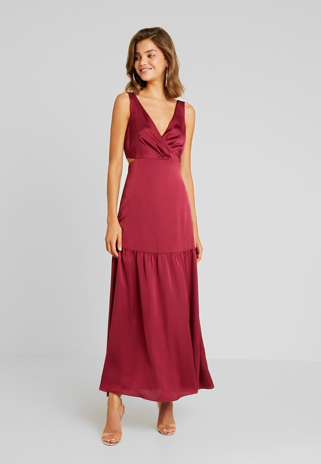 LILA CUT OUT MAXI - Maxikleid - berry bliss