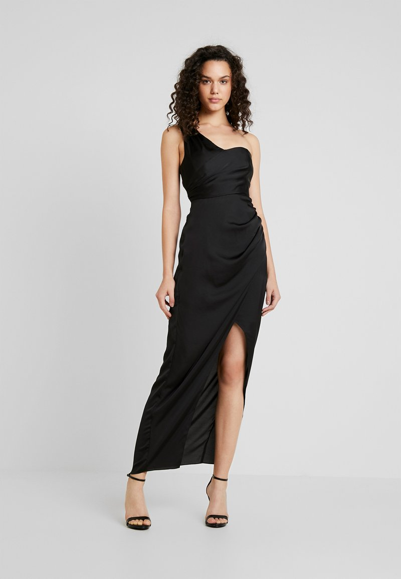 Forever New - CAMILLE ASYM ONE SHOULDER DRAPE MAXI - Occasion wear - black
